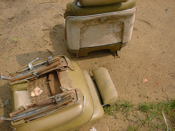 69-72 Bucket Seats GM A-body 66 GTO Bucket Seats w/Headrests